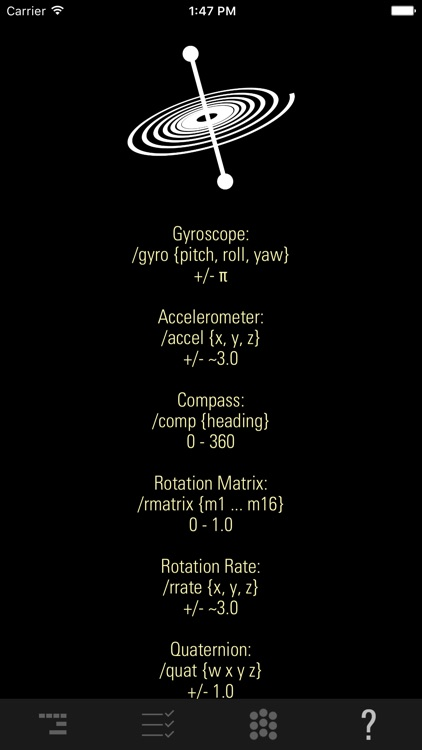 GyrOSC screenshot-3