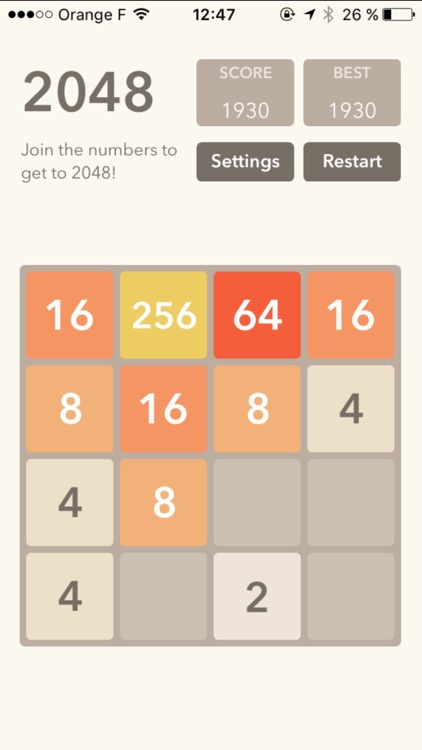 2048 : logic game screenshot-1