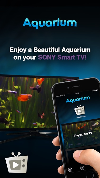 Aquarium for Sony Smart TVs