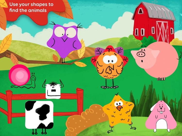 Tiggly Safari: Preschool Shapes Learning Game