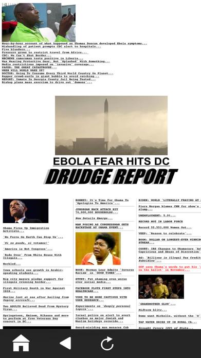 Official Drudge Report (Free) Screenshot