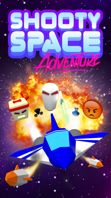 Shooty Space Adventure retro arcade shooter