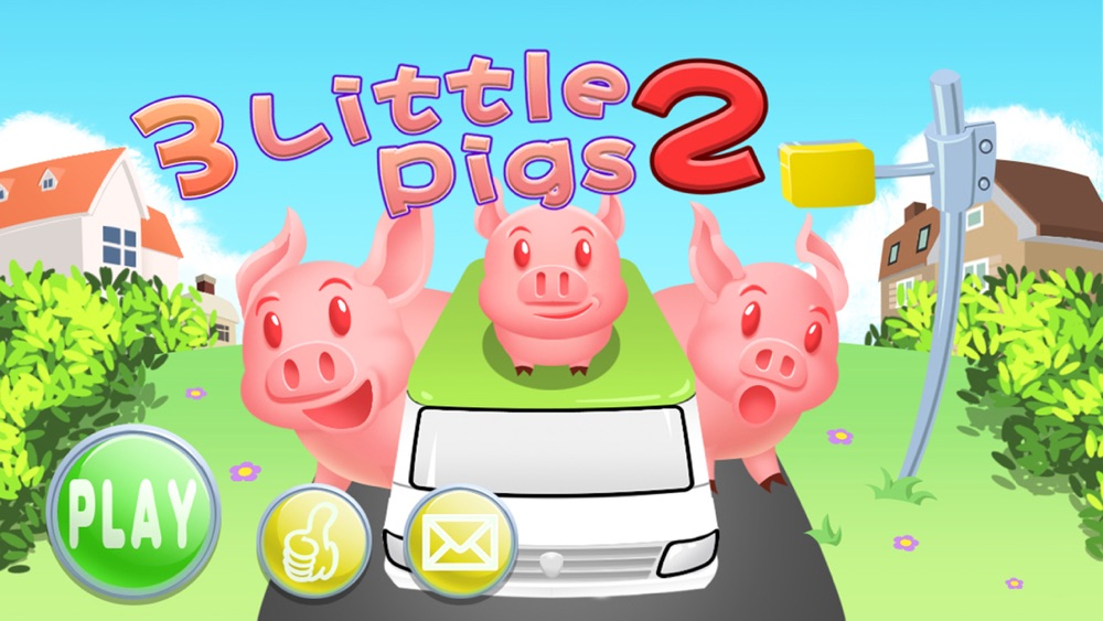 3 little pigs way home 2 (Happy Box) adventure games Cheat Codes