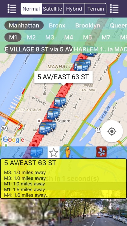 My NYC Next Bus Real Time Pro - Public Transportation Directions and Trip Planner screenshot-0