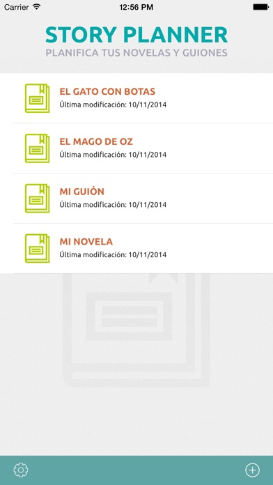 Screenshot for Story Planner in Peru App Store