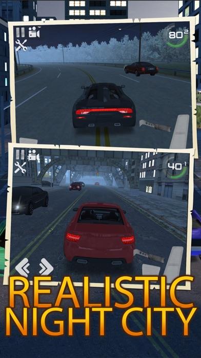 Night Traffic Car Driving Parking Career Simulator screenshot one