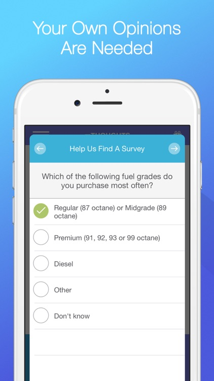 mTHOUGHTS – Share Opinions and Earn mPlus Rewards screenshot-1