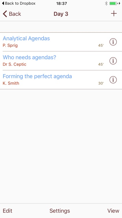 AgendaTouch screenshot-3