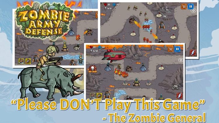 Zombie Army Defense HERO screenshot-3