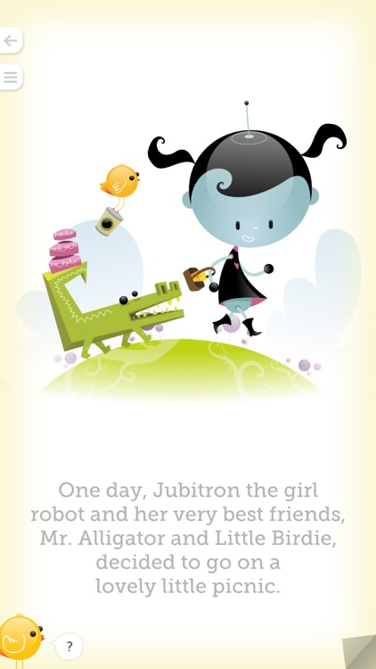 Jubitron the Girl Robot: The Lovely Little Picnic