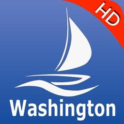Washington GPS Nautical charts pro