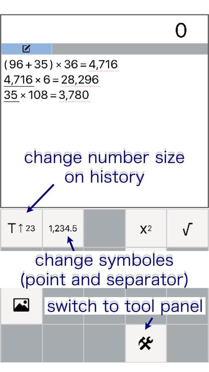 editable history - Calculator screenshot-3