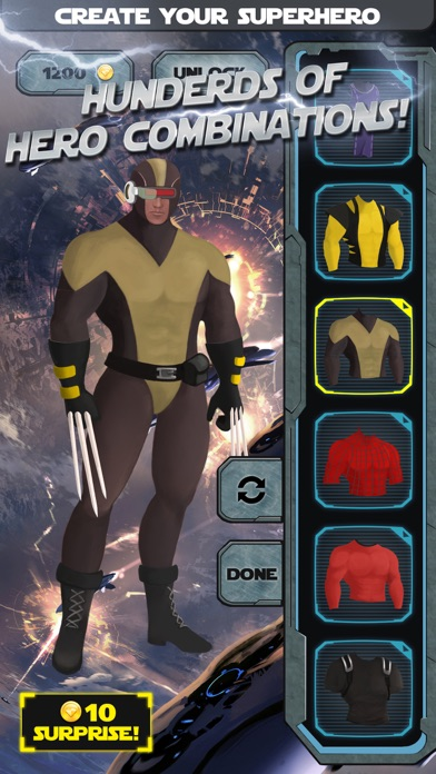 Superhero Creator - Super Hero Character Costume Maker