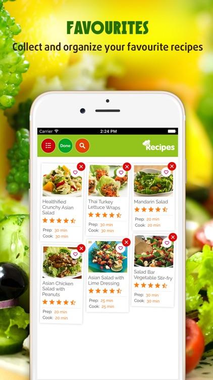 Yummy Salad Recipes screenshot-3