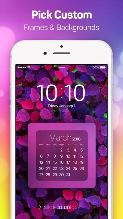 Lock Screen Designer Free - Lockscreen Themes and Live Wallpapers for iPhone.