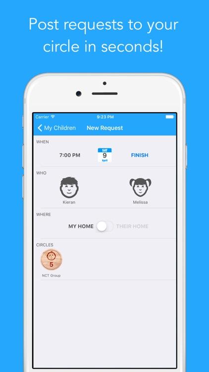 My Sitter Circle - The Private Babysitting Circle Token Exchange Tool screenshot-3