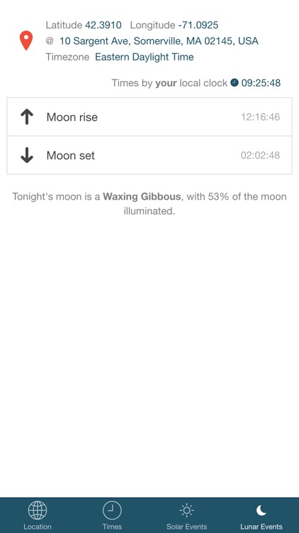 Noonish - discover local solar times. screenshot-3