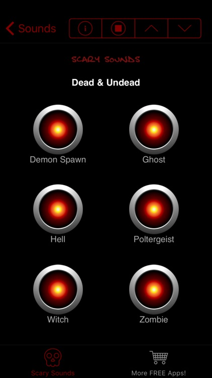 Scary Sounds & Noises -  Free Sound Effects Board