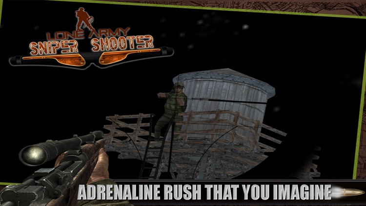 Lone Army Sniper Shooter : Rebel Camps Shoot Outs screenshot-3
