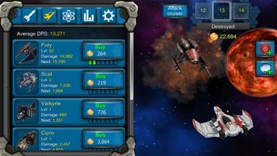 Galaxy War Clicker screenshot two