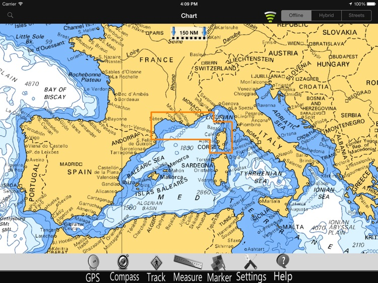 France Med. Nautical Chart Pro screenshot-4
