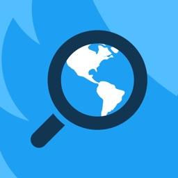 Mapee - Find Tweets around the world