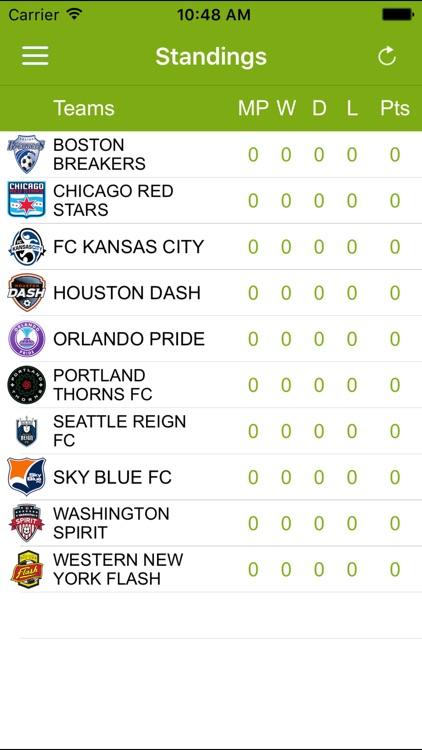 Soccer Pro-Live Scores-NWSL-US
