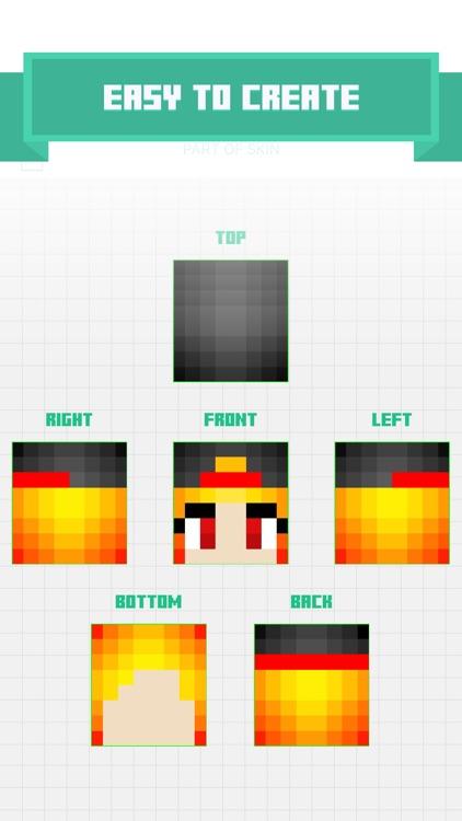 Free Skin Editor Maker For Minecraft PE Pocket Edition PC By - Skin editor fur minecraft pe