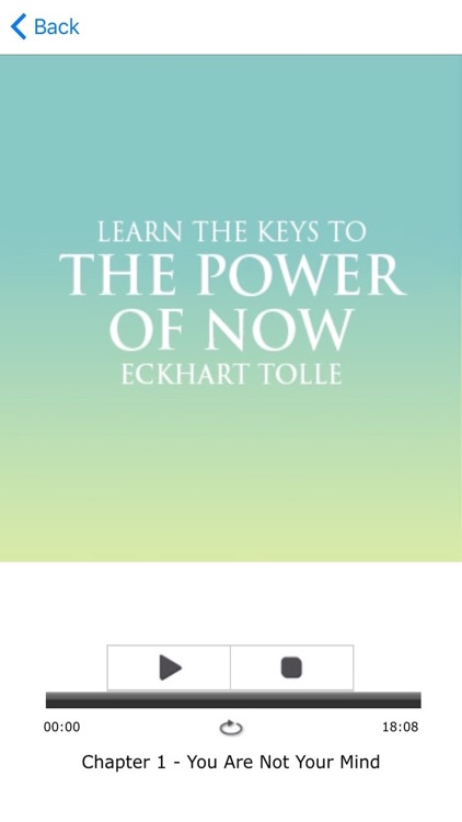 Power of Now Meditations based on Eckhart Tolle screenshot-3