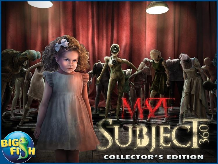 Maze: Subject 360 HD - A Mystery Hidden Object Game (Full) screenshot-4
