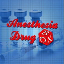 Anesthesia Drug Box