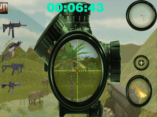 Boar Mountain Sniper Hunting HD, game for IOS