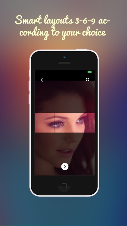 InstaGrids Creator Pro– Giant Photo College / Banners / Square Maker & Upload Pic for Instagram screenshot-3