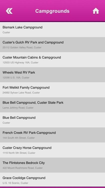 South Dakota Campgrounds and RV Parks screenshot-4