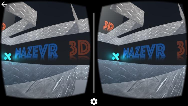 MazeVR 3D for Google Cardboard