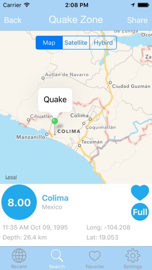 Earthquake PRO Alert & Search USGS Data Edition on the App Store