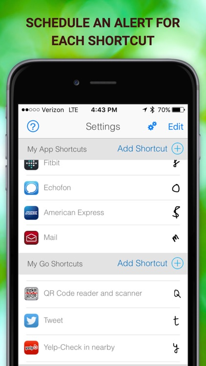 LaunchCode Shortcut with Notification Center & 3D Touch - FREE screenshot-4