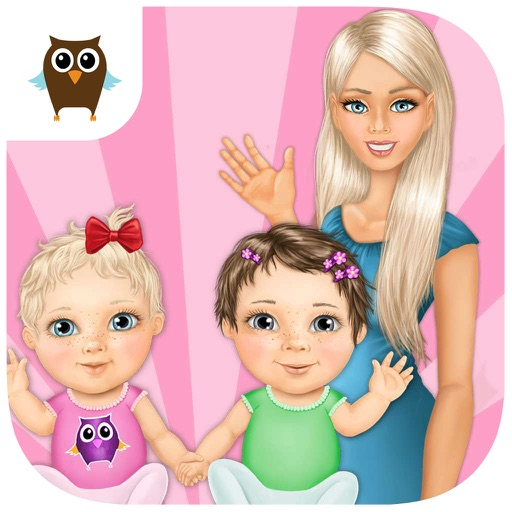 Sweet Baby Girl Twin Sisters Care - Kids Game
