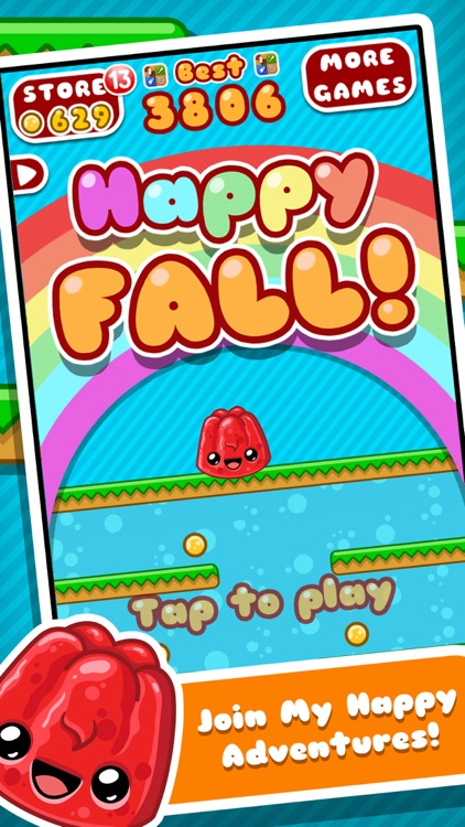 Happy Fall - Endless Arcade Falling