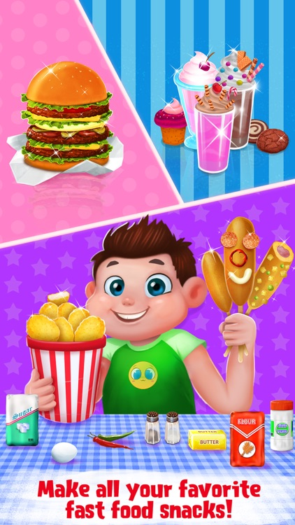Burgers & Shakes - Fast Food Maker screenshot-4
