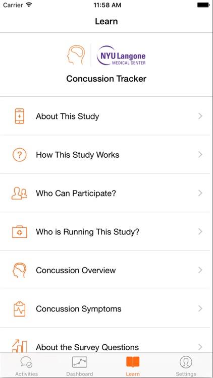 Concussion Tracker screenshot-3