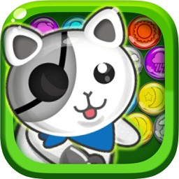 Cute Bubble Cat—The most interesting game