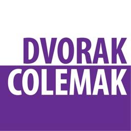 Dvorak + Colemak Keyboards