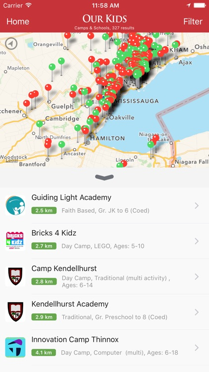 Our Kids: Find Schools & Camps
