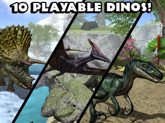 Ultimate Dinosaur Simulator для iPad