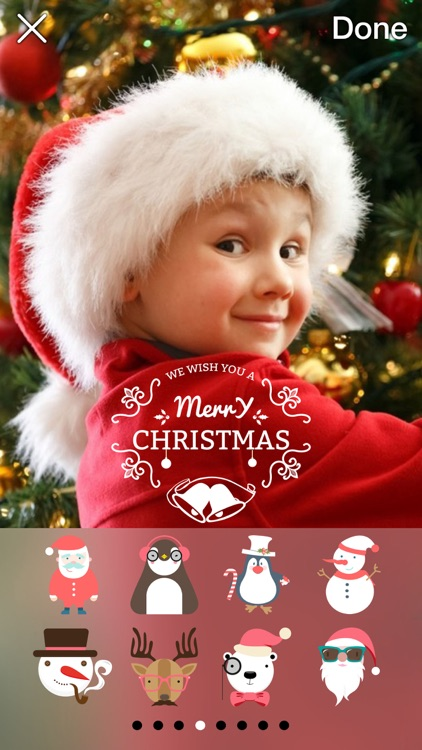 Now That's Christmas: Turn Your Photos Into Holiday Cards With 72 Stickers