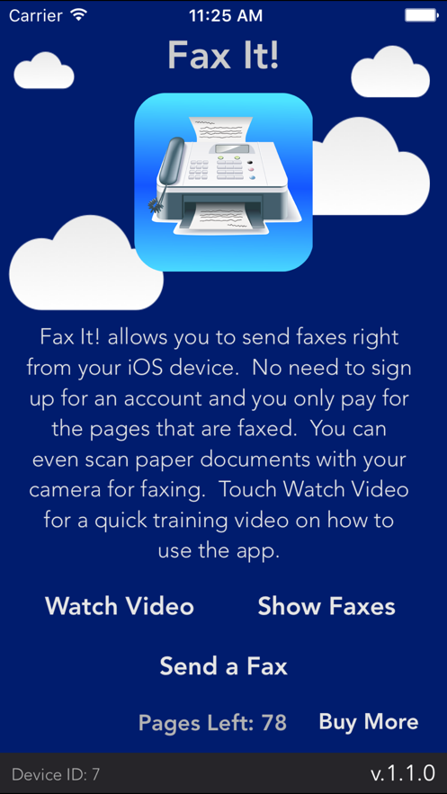 Fax It! - scan and fax App 截图