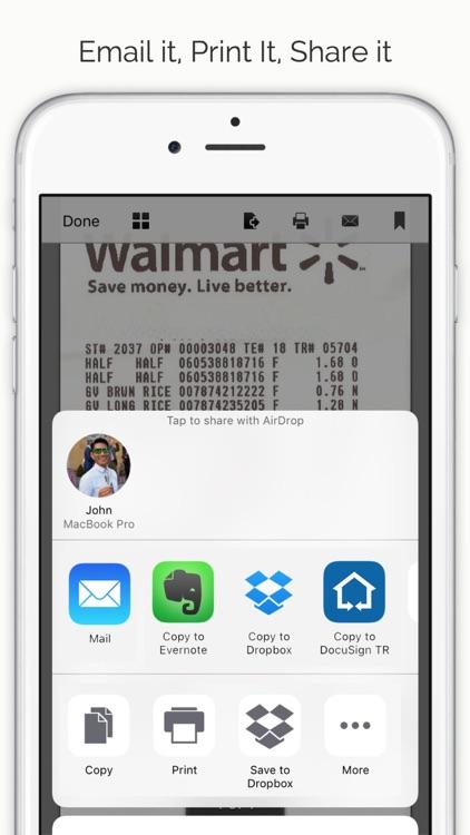 DocuScan - PDF Document Cam Scanner & Scan Converter App screenshot-4