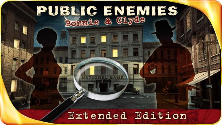 Public Enemies : Bonnie & Clyde – Extended Edition - A Hidden Object Adventure screenshot-0
