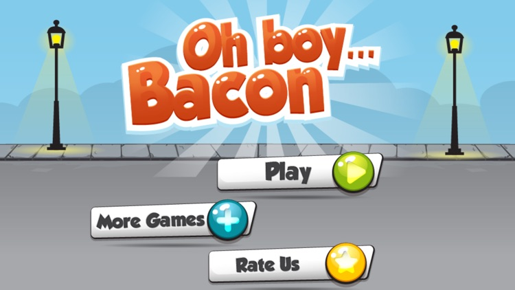 Bacon Boy - Funny Fat Guy Runner Mini Game